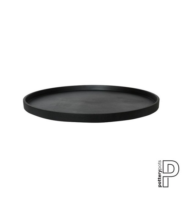 Saucer Round L, Fiberstone