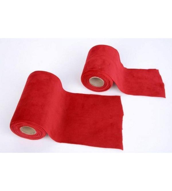 Ruban velours rouge 10cmx5m (1)