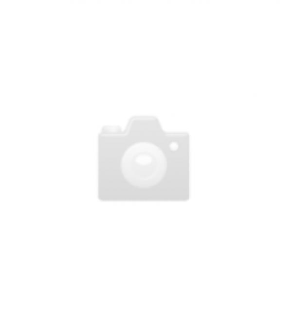 Teelicht Rillen Glas amber 10x15cm (1)