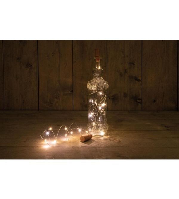 LED micro Lichterkette für Flasche