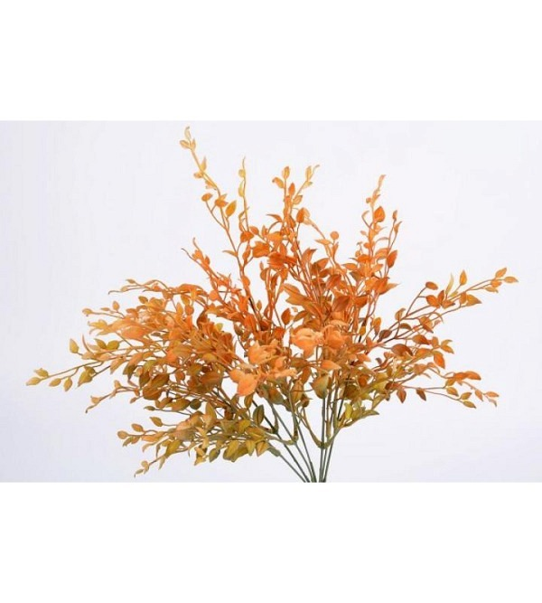 Herbstzweig orange 35cm
